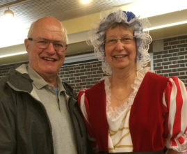Bob & Dagmar at Rainbow Bingo February 2015