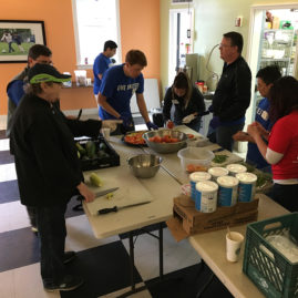 Day of caring helpers