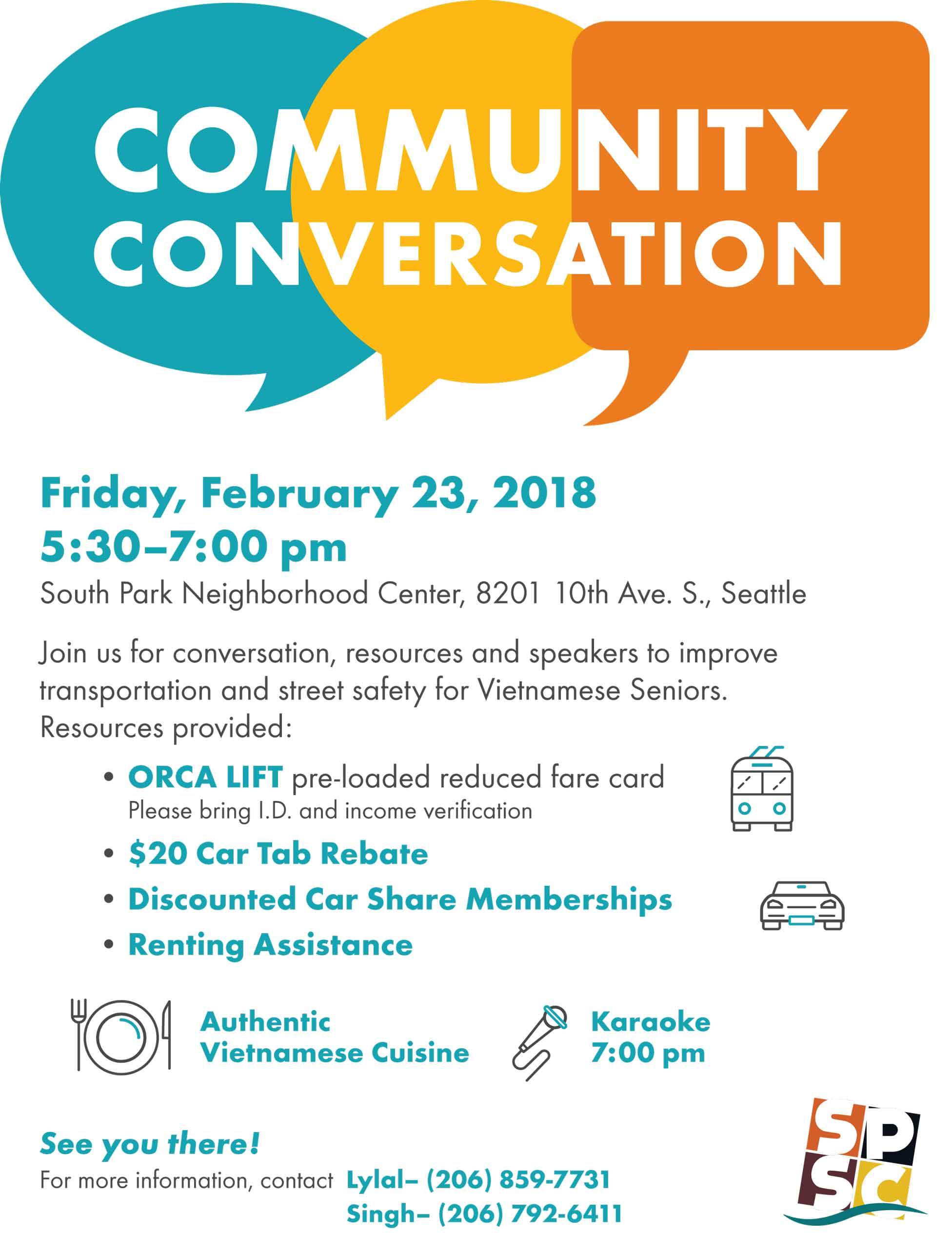 SPSC Vietnamese Community Conversation Feb 23 2018