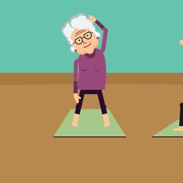 Yoga for senior flexibility, relaxation and fitness